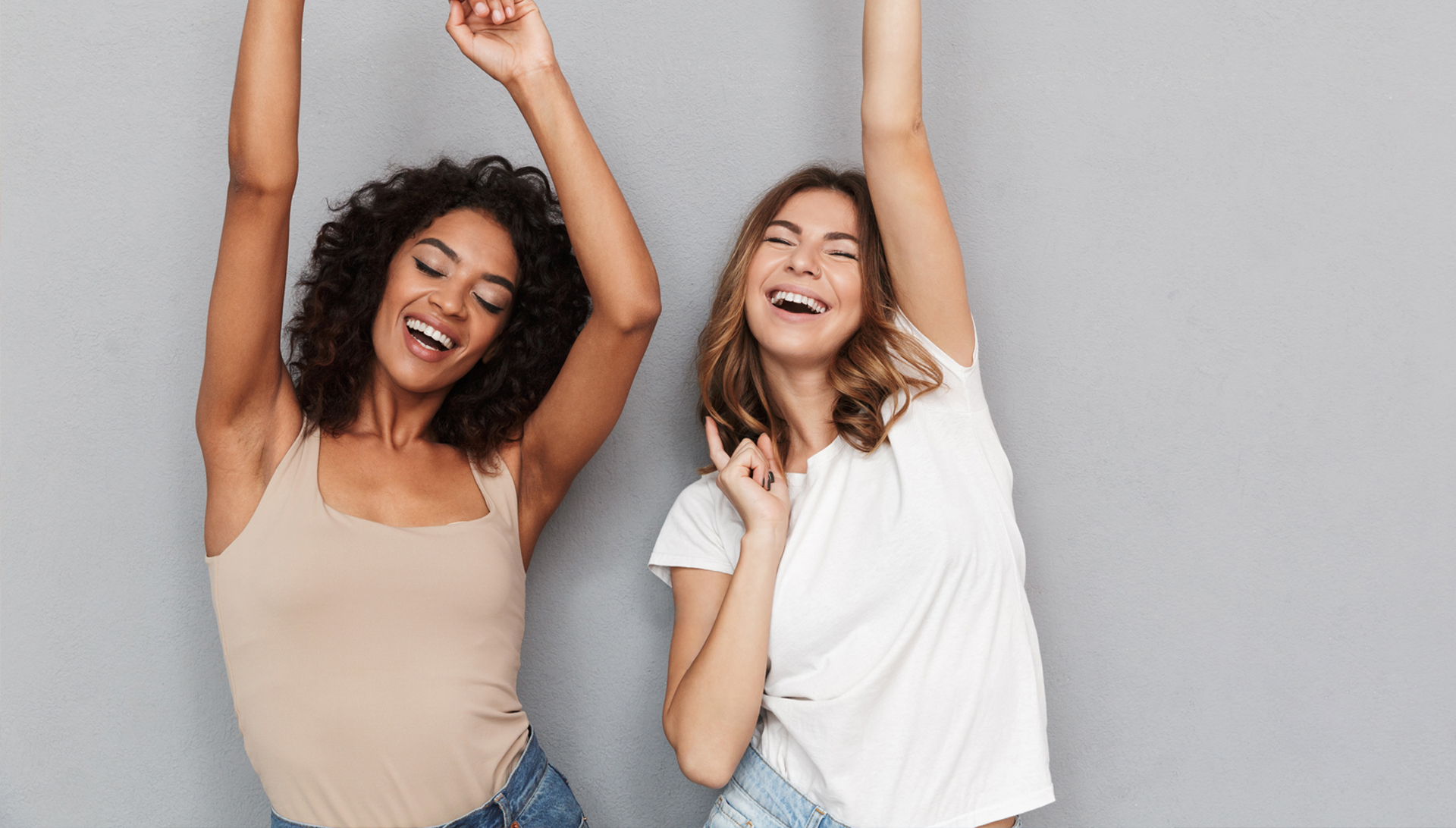 Women's Health: Two women happy