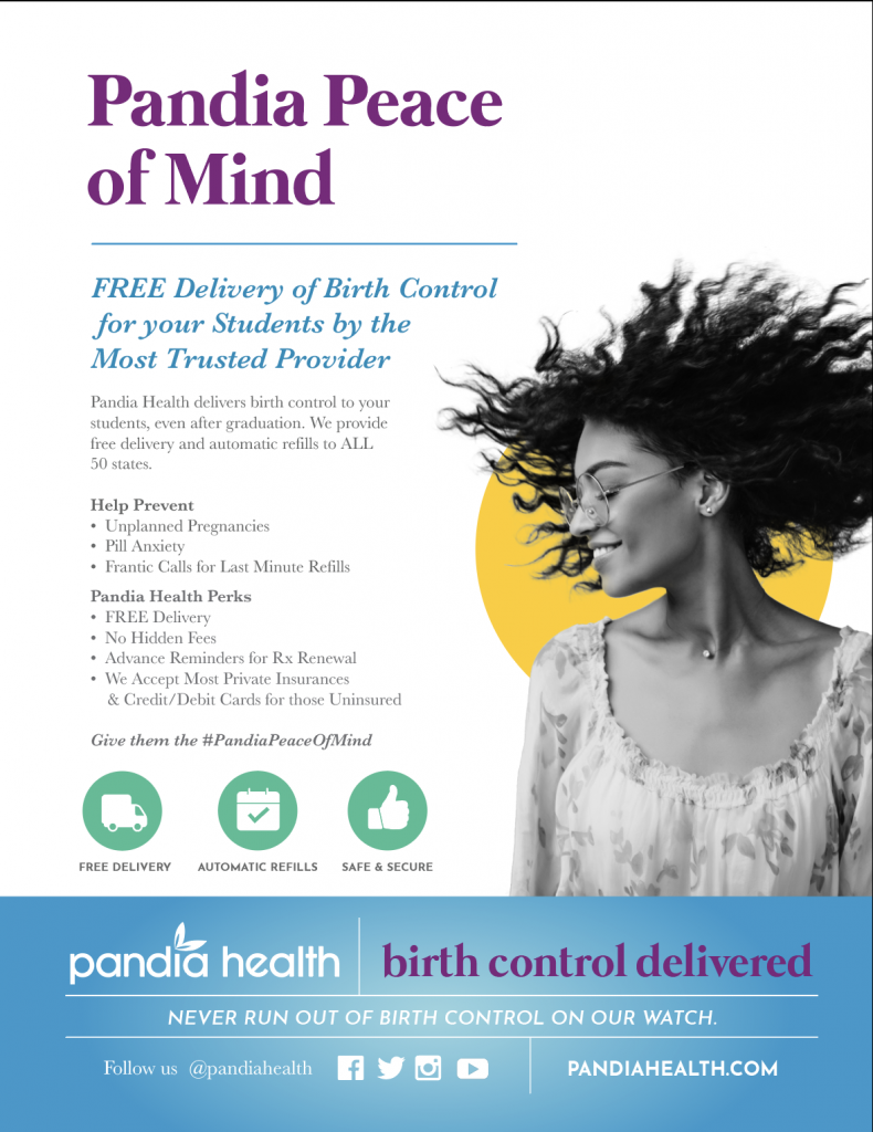 Pandia Health flyer, Pandia Peace of Mind