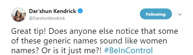 Dar'Shun Kendrick, Georgia State Representative tweet in Livechat with Pandia Health