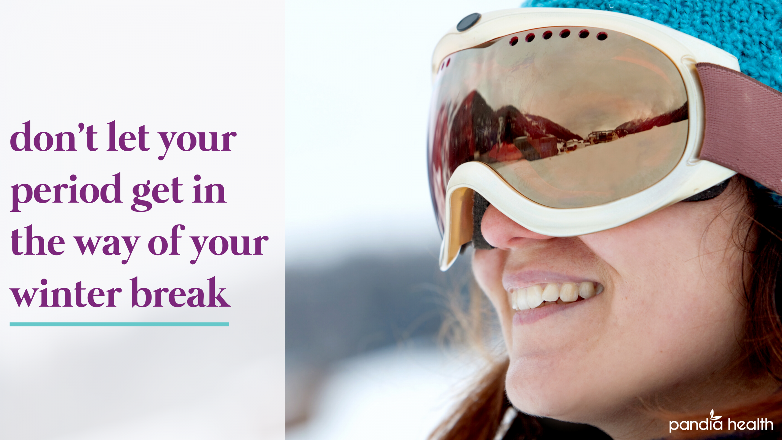girl wearing a ski mask smiling