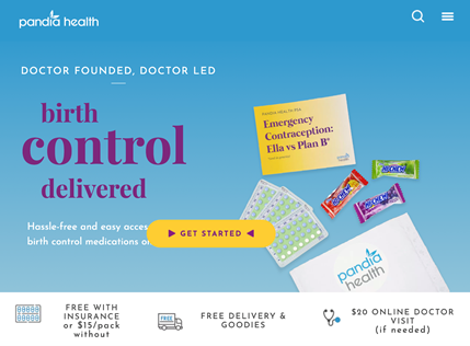 Online Birth Control Delivery from Pandia Health