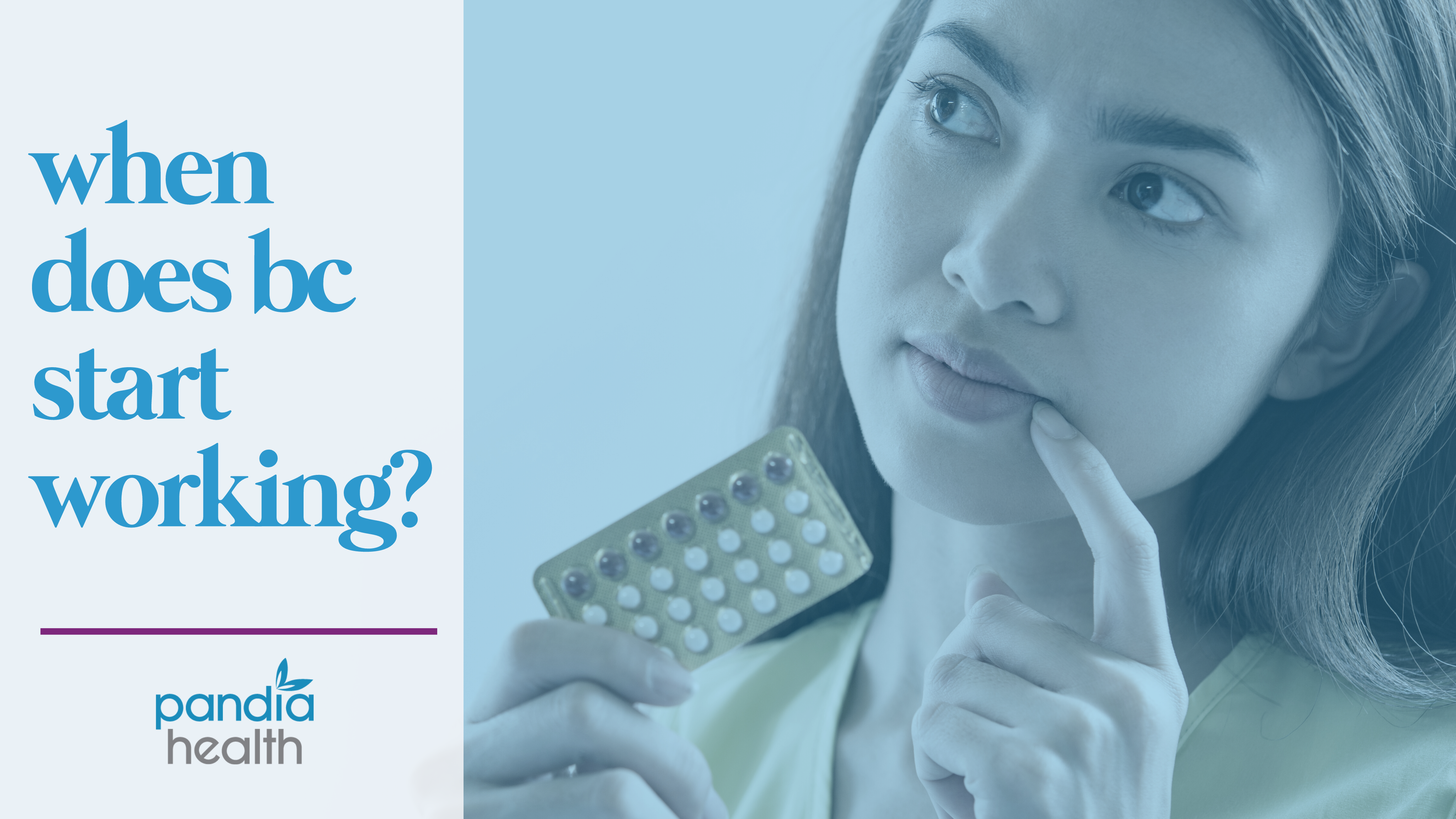 woman holding a pack on birth control