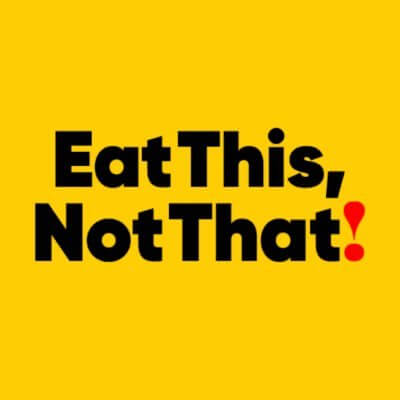 Eat this, not that!